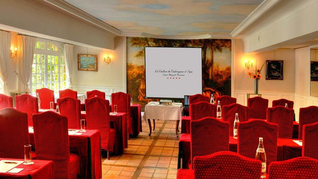 Hôtel Le Vallon de Valrugues & Spa - Salle de séminaire