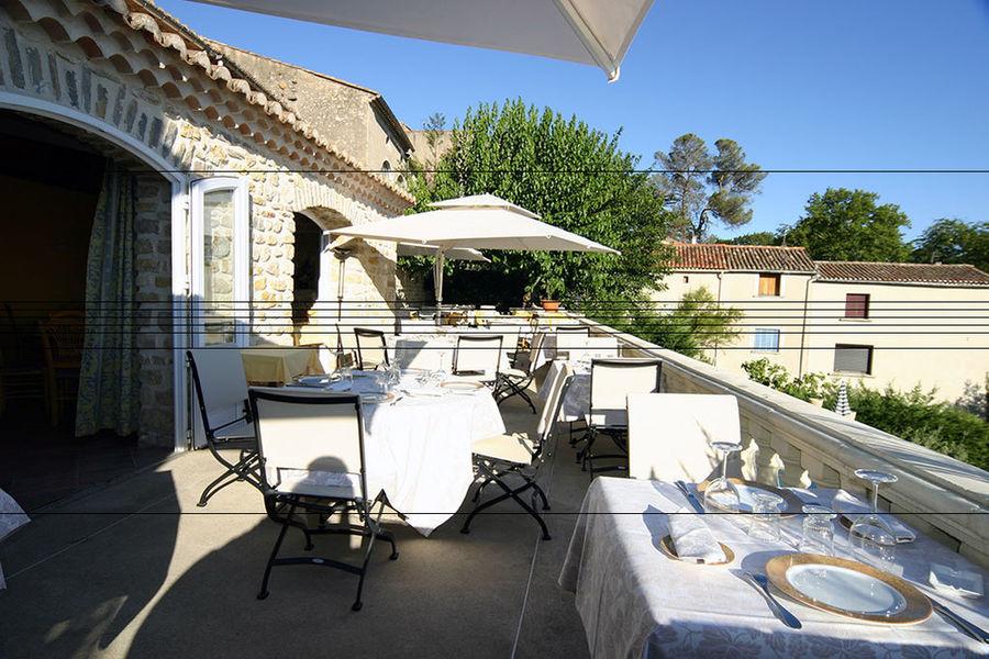 La Bastide des Senteurs - Terrasse restaurant