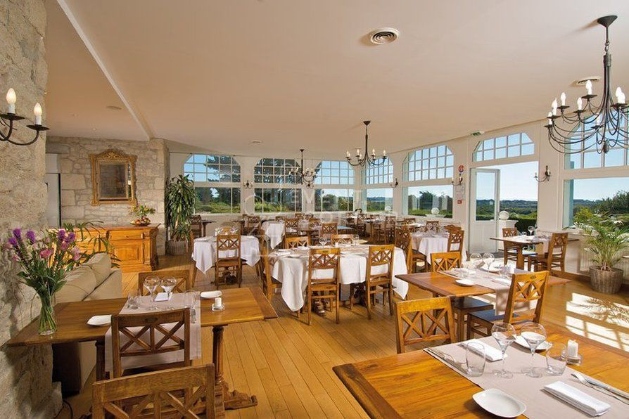 Hôtel du Tumulus - Salle de restaurant