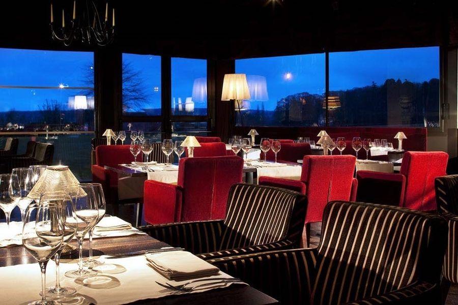 Le Pavillon de Gouffern - Salle de restaurant