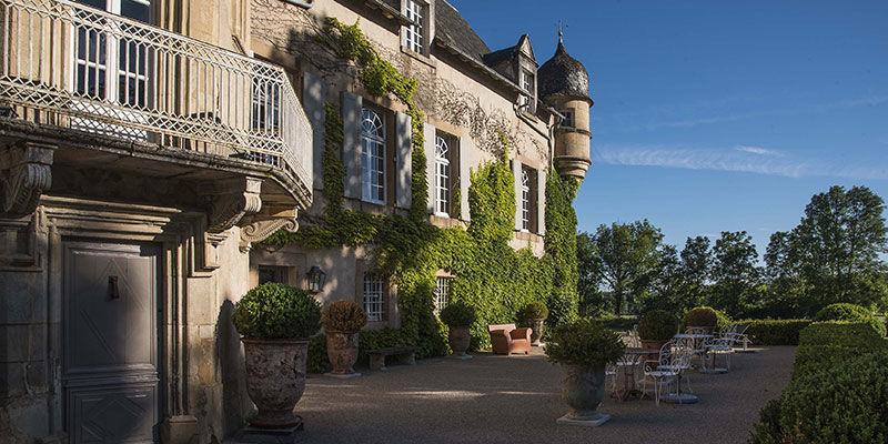 Château de Labro - Extérieurs Terrasse & Parc