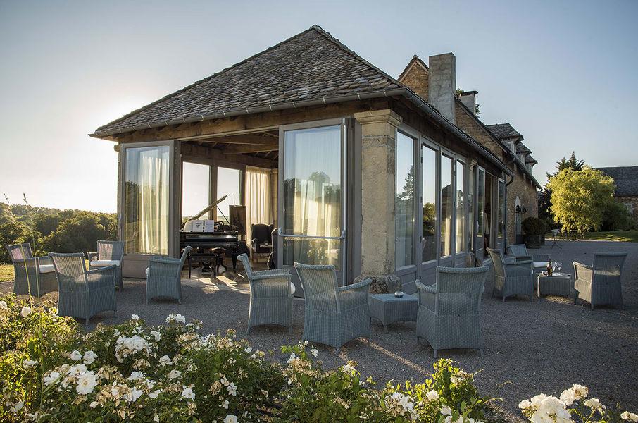 Château de Labro - Le Piano Bar 2