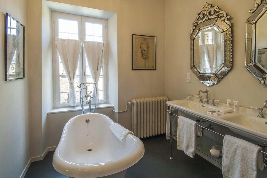 Château de Labro - Salle de bain