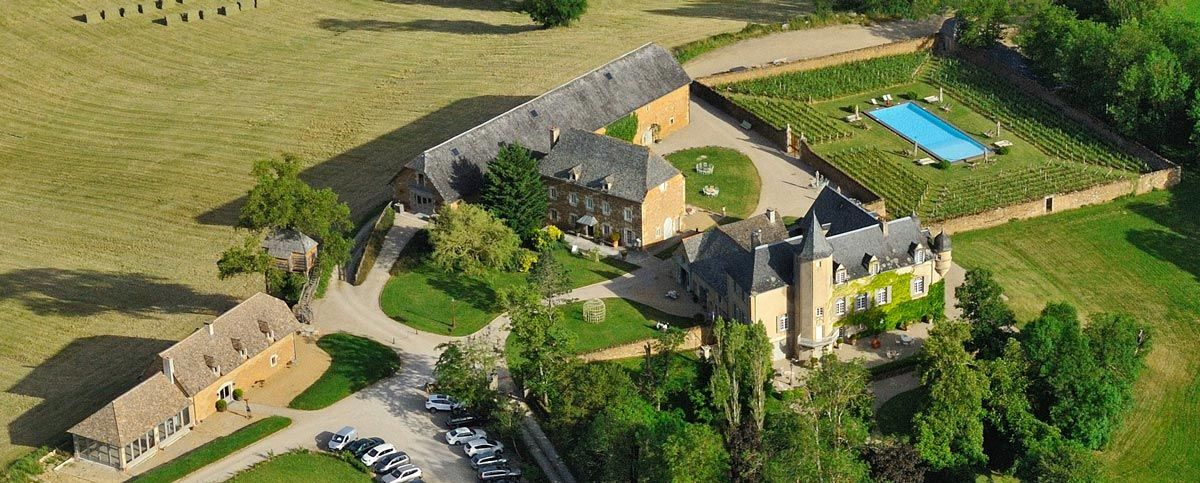 Château de Labro - Vue Panoramique