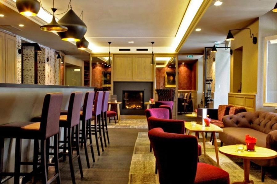 Hôtel Les Glycines & Spa - Bar