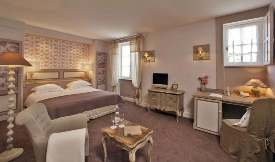 Hôtel Les Glycines & Spa - Chambre 4