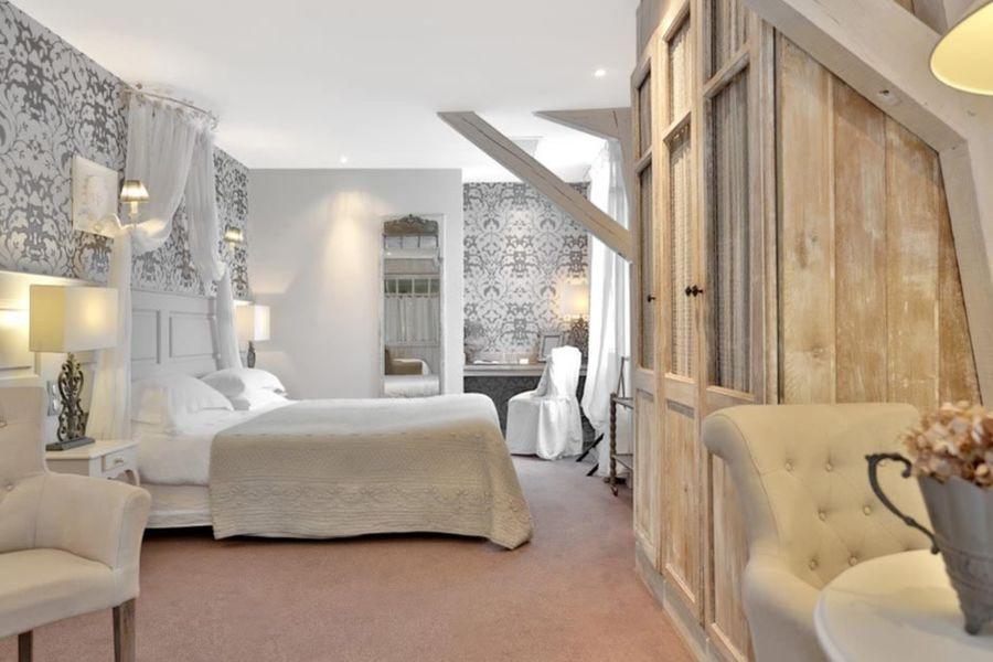Hôtel Les Glycines & Spa - Chambre 6