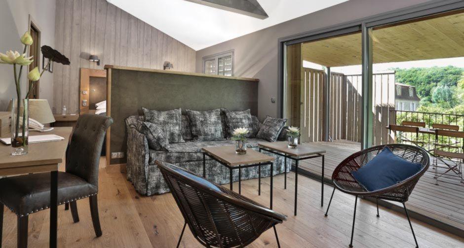 Hôtel Les Glycines & Spa - Chambre