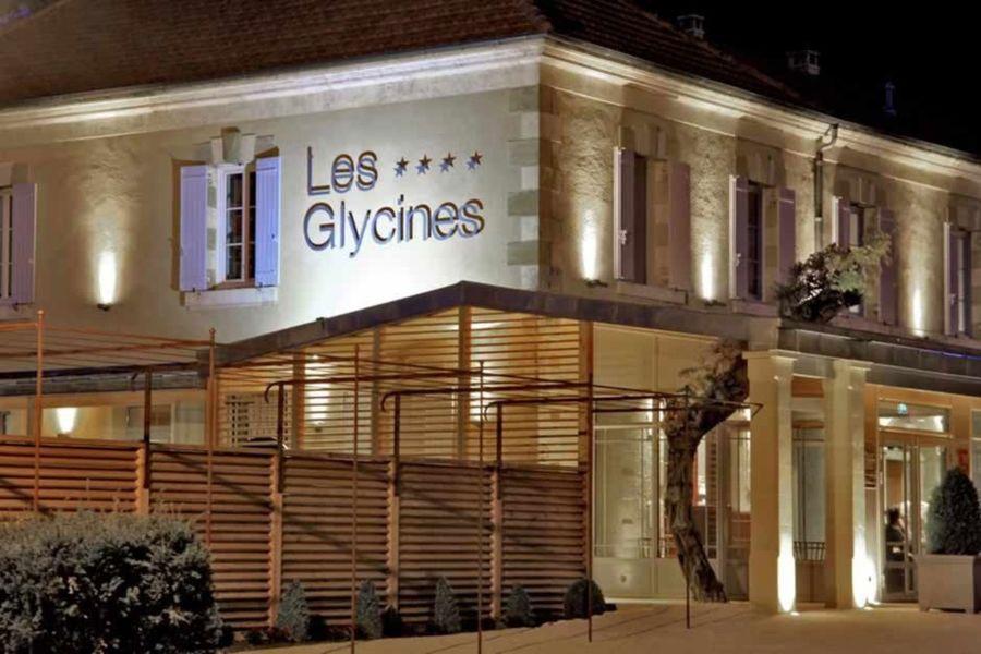 Hôtel Les Glycines & Spa - Façade 2