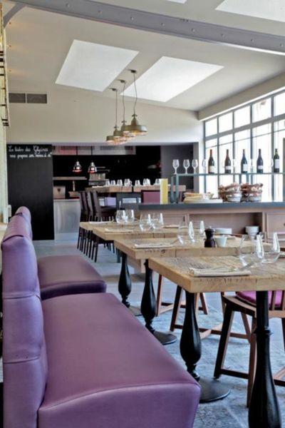 Hôtel Les Glycines & Spa - Salle de restaurant