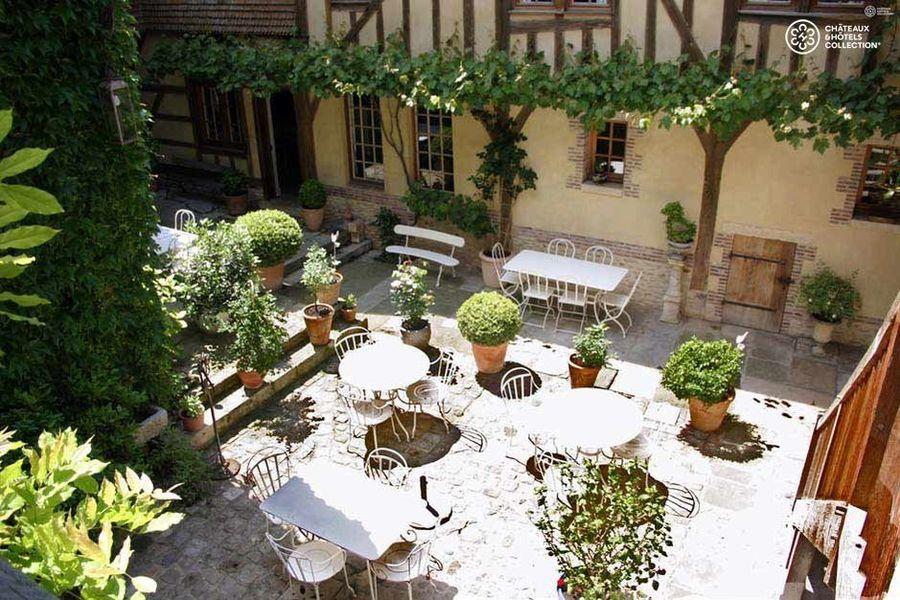 La Maison de Rhodes - Terrasse
