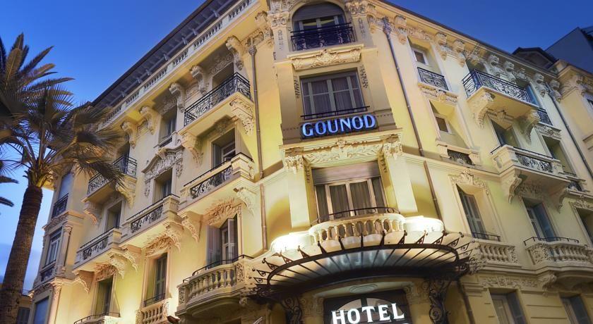 Hôtel Gounod - Façade