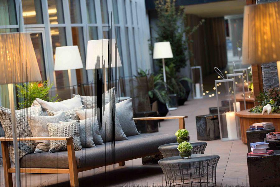 Renaissance Paris République Hotel ***** - Terrasse Bar