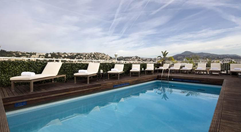 Hôtel Splendid Nice - Piscine 1
