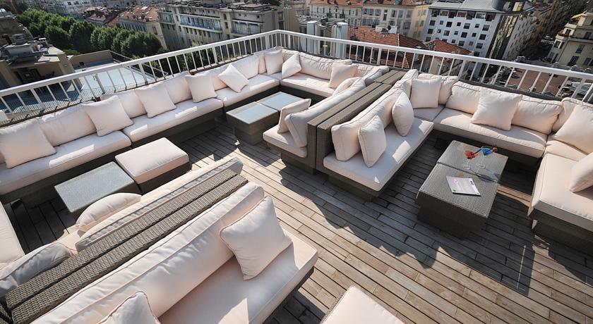 Hôtel Splendid Nice - Terrasse Rooftop