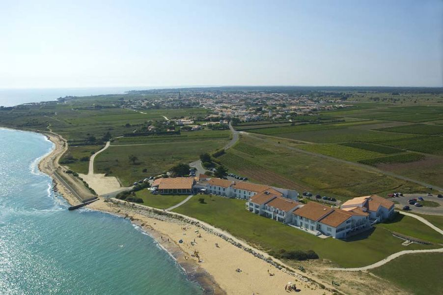 Atalante Wellness Hotel Thalasso & Spa - Vue aérienne