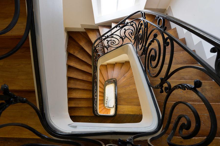 Château de la Bûcherie - Escalier