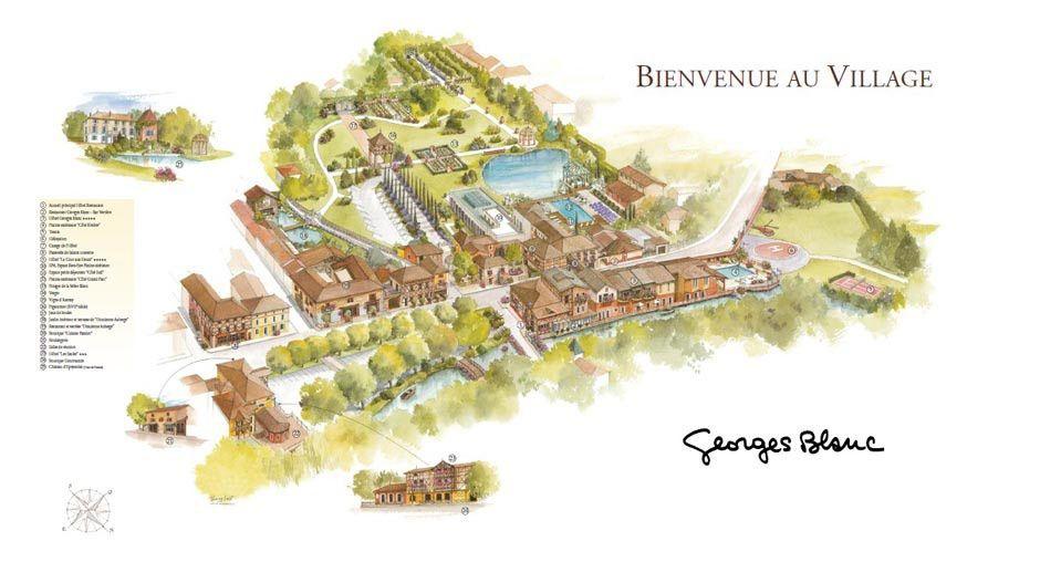 Les Saules Parc & Spa - Le Village