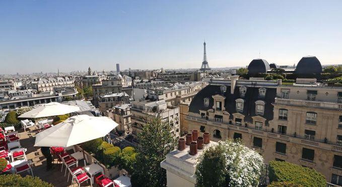 Salle séminaire  - Hôtel Raphael Paris *****