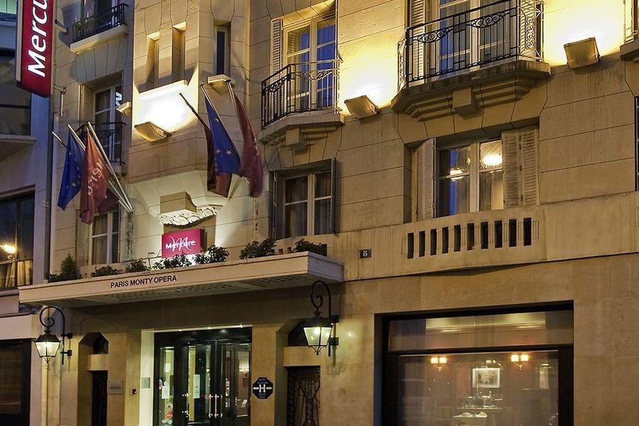 Hôtel Mercure Paris Opéra Faubourg Montmartre **** - Façade extérieur
