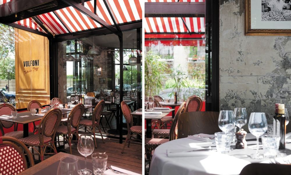 Restaurant Volfoni - Terrasse