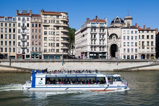 Salle séminaire  - Lyon City Boat - Bateau Navilys