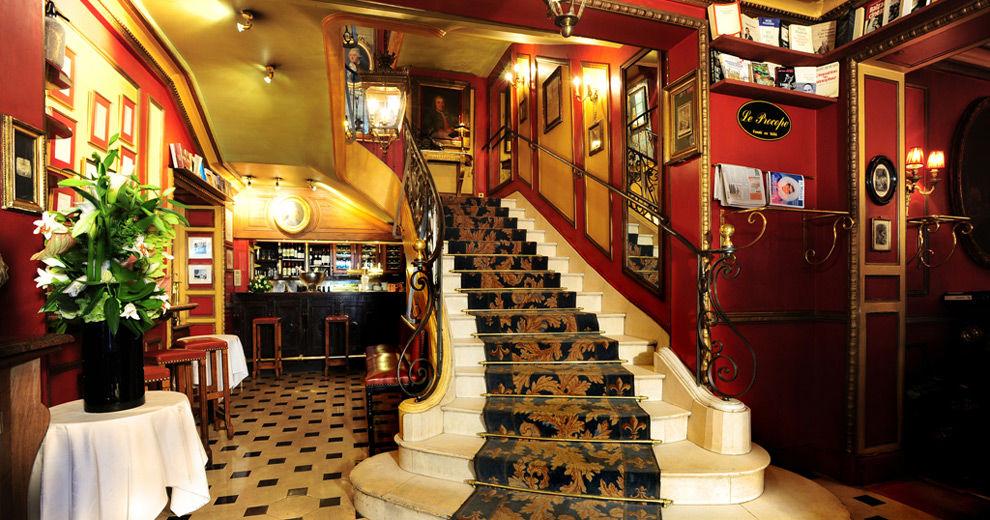 Restaurant le Procope - Escaliers