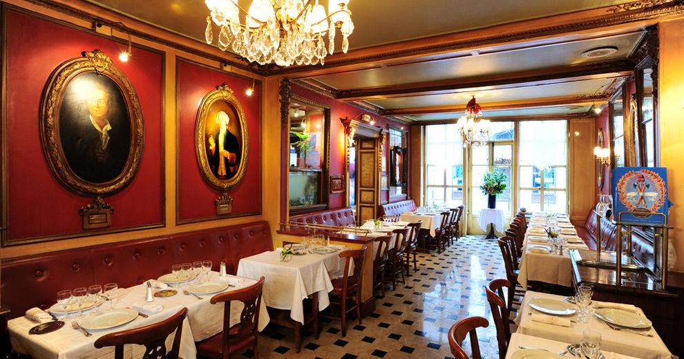 Restaurant le Procope - Salle de restaurant