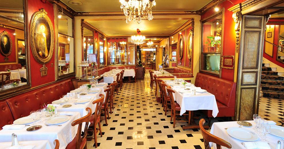 Restaurant le Procope - Salle de restaurant 2