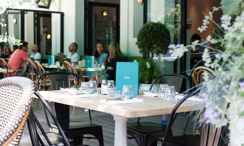 Auteuil Brasserie - Terrasse