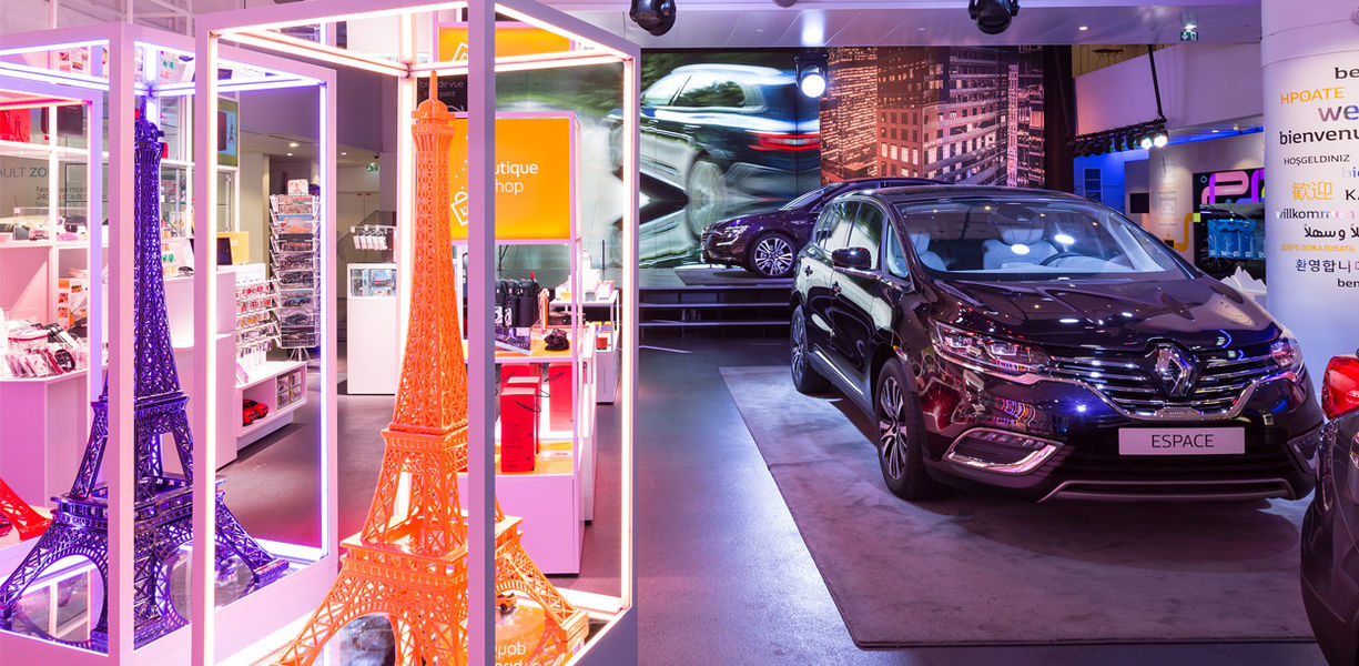 Atelier Renault - Showroom