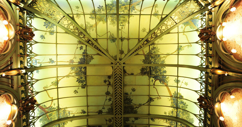 La Fermette Marbeuf Plafond