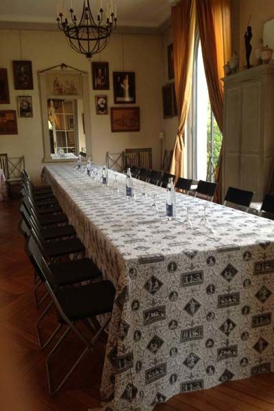 Domaine de la Vigne de Paris-Bagatelle Salon de Séminaire