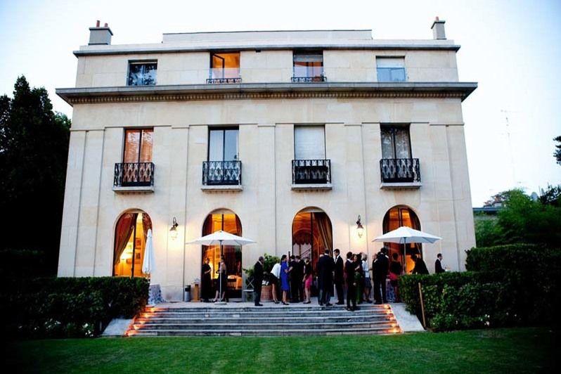 Domaine de la Vigne de Paris-Bagatelle Façade