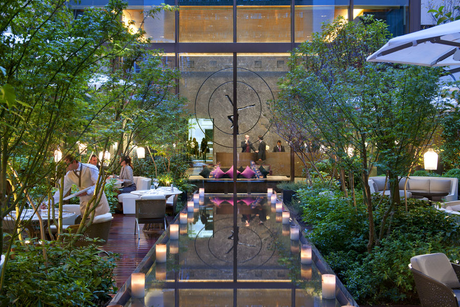 Hôtel Mandarin Oriental ***** Jardin
