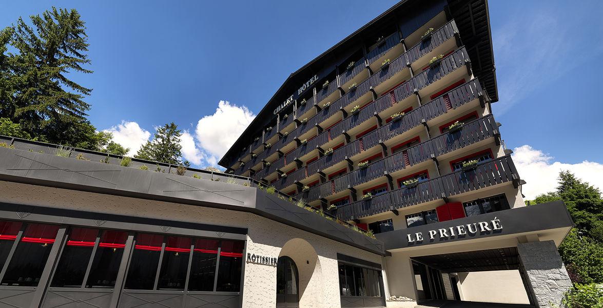 Hôtel Le Prieuré *** Façade