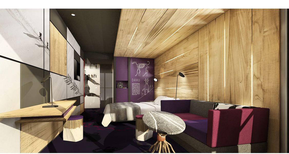 Hôtel de l'Alpina *** Chambre