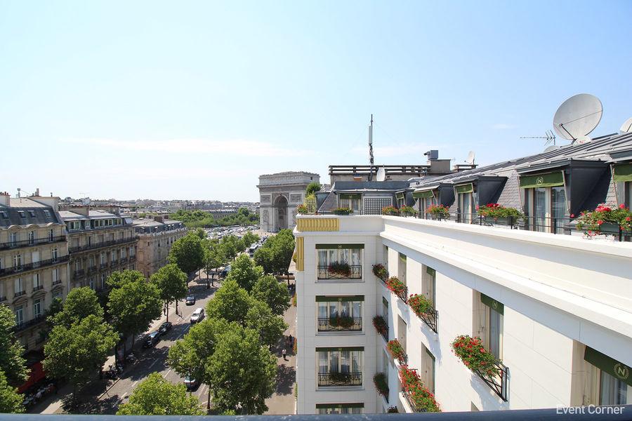 Hôtel Napoléon ***** Suite impériale - Vue terrasse