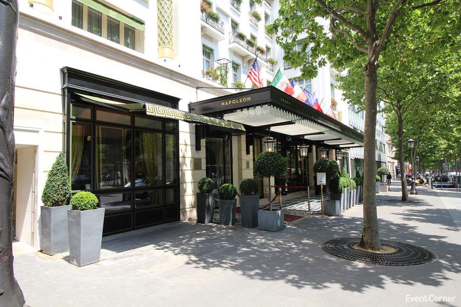 Hôtel Napoléon ***** Façade