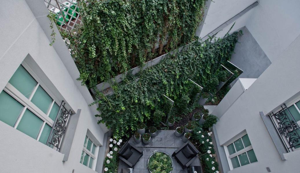 Jardins De La Villa Hôtel **** Terrasse