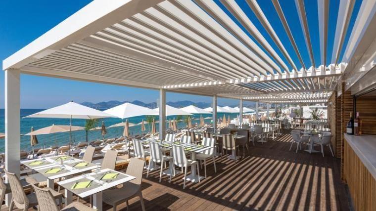 Radisson Blu 1835 Thalaso Cannes **** Terrasse bord de mer