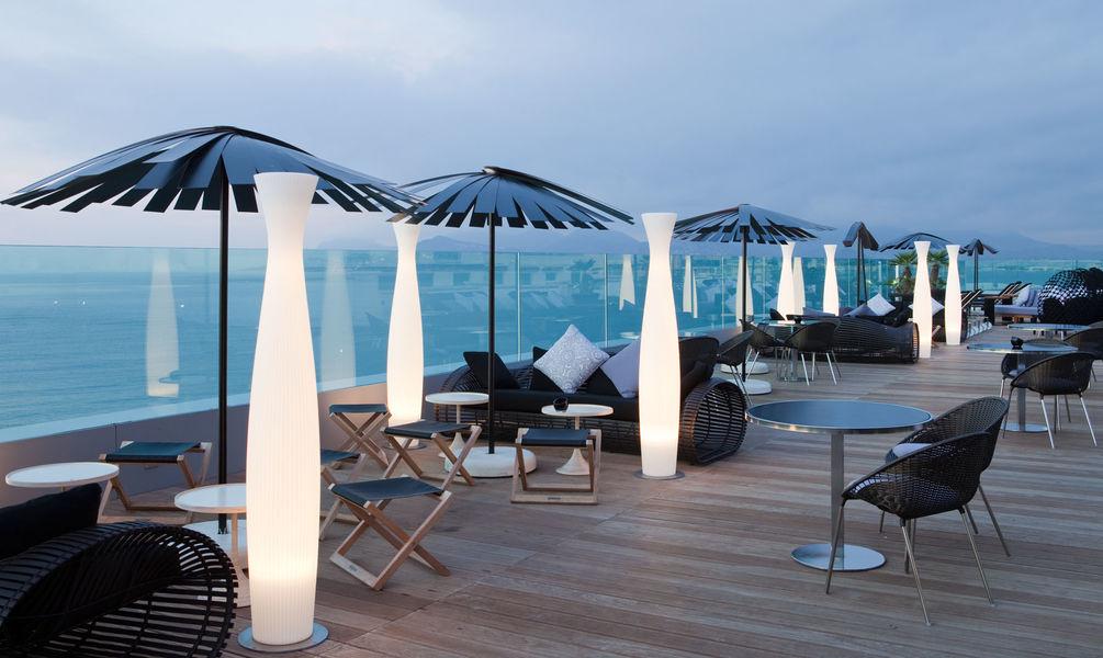 Radisson Blu 1835 Thalaso Cannes **** Terrasse