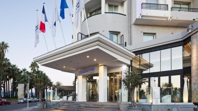 Radisson Blu 1835 Thalaso Cannes **** Entrée