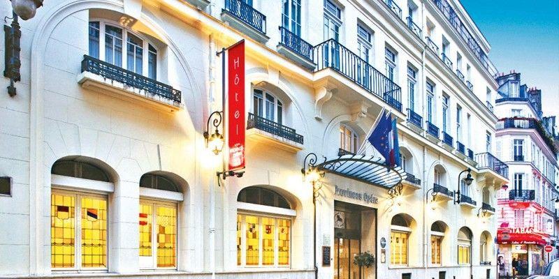 Hôtel Provinces Opéra *** Façade