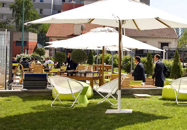 Courtyard by Marriott Paris Colombes **** Terrasse