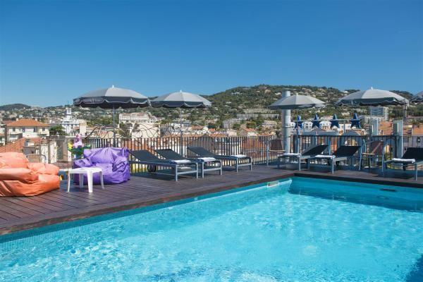 BEST WESTERN Cannes Riviera Hotel **** Piscine