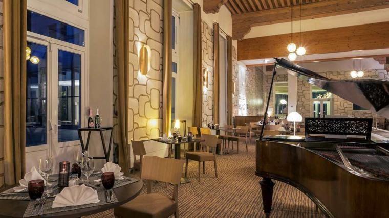 Mercure Brides-les-Bains Grand Hôtel des Thermes **** Restaurant