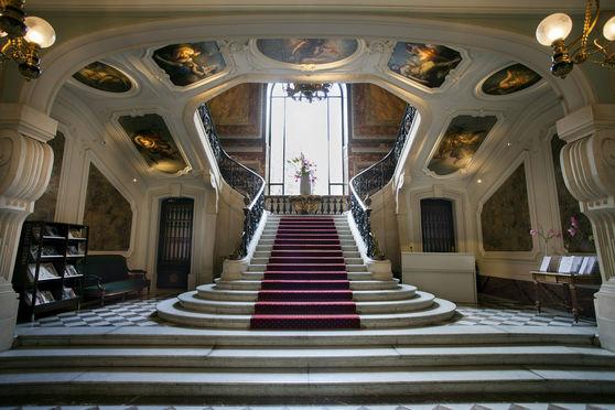 Salle séminaire  - Hôtel Le Marois – France Amériques