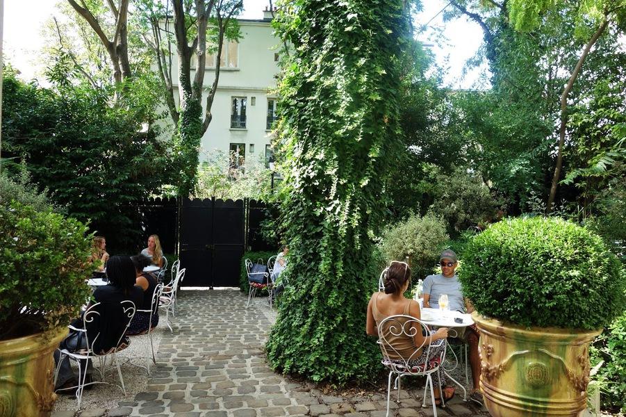 Hôtel Particulier Montmartre Terrasse