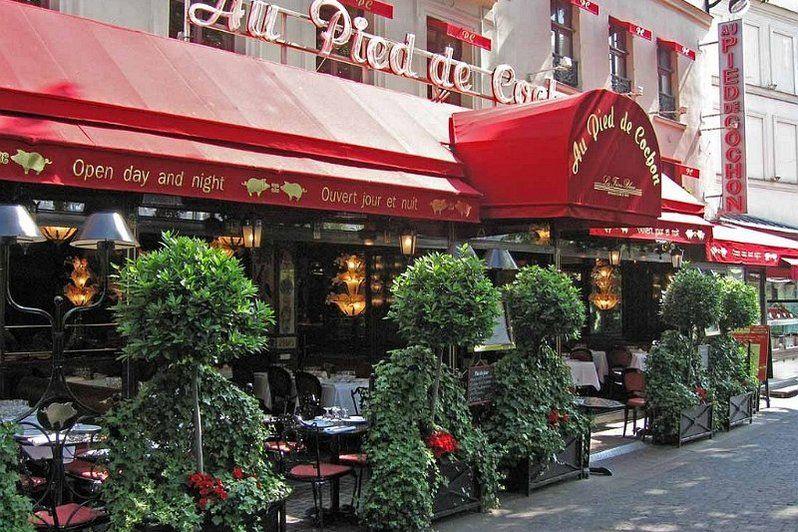 Restaurant Au Pied de Cochon Façade